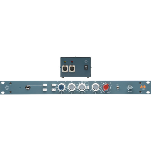 BAE 1028 3-Band EQ, with Power Supply, Rackmount
