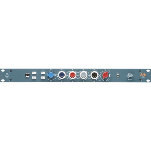 "BAE 1032 4-Band Mic/Line Preamp Module (19"" Rackmount Version, No Power Supply)"