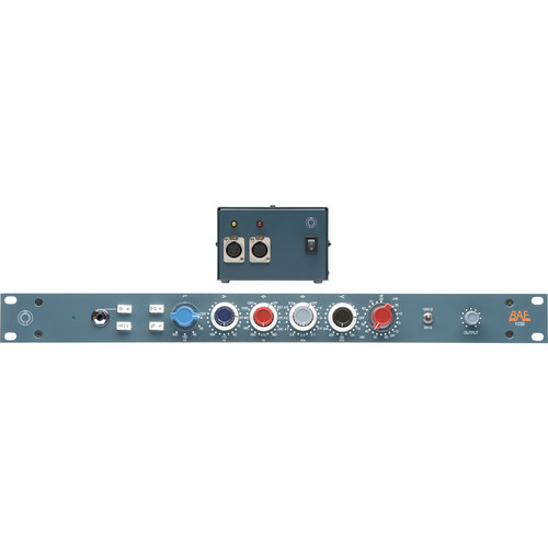 "BAE 1032 4-Band Mic/Line Preamp Module (19"" Rackmount Version, With Power Supply)"