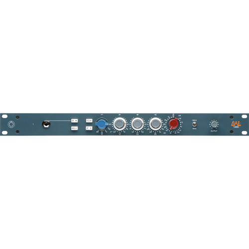 "BAE 1066D Mic/Line Preamp Module (19"" Rackmount, No Power Supply)"