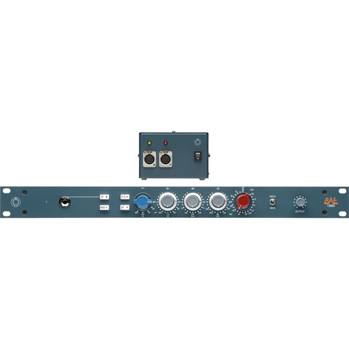 "BAE 1066D Mic/Line Preamp Module (19"" Rackmount, Power Supply)"