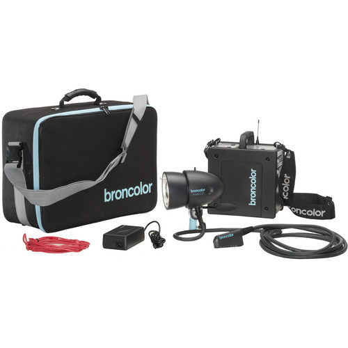 Broncolor Mobil A2L Travel Kit with Lithium Battery