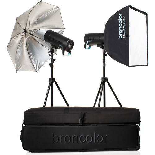 Broncolor Siros 800 S Expert 2-Light Kit