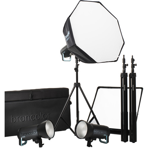 Broncolor Siros 800 S Pro 3-Light Kit