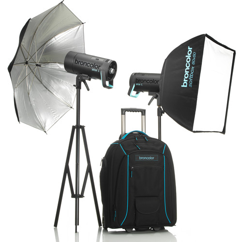Broncolor Siros 800 L Battery-Powered 2-Light Outdoor Kit 2