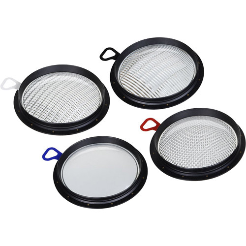 Broncolor Set of PAR Lenses for HMI F200 Lamp Head (4-Piece)
