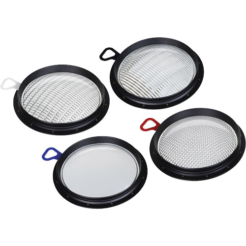 Broncolor Set of Four PAR Lenses for PAR Reflector for HMI F1600
