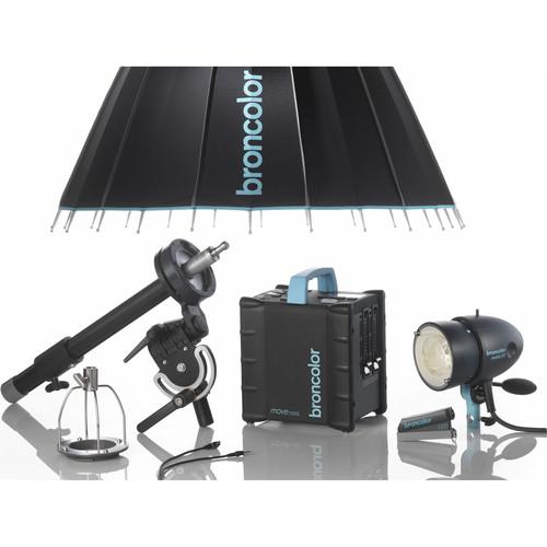 Broncolor Move 1200L 2-Light Outdoor Para 88 Kit