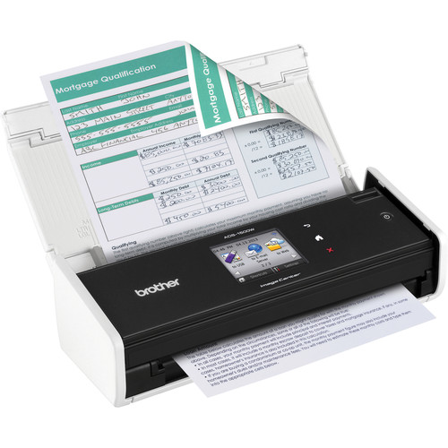 Brother ADS-1500w Wireless Document Scanner