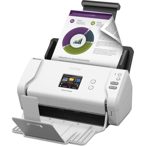 Brother ADS-2700W Wireless High-Speed Document Scanner