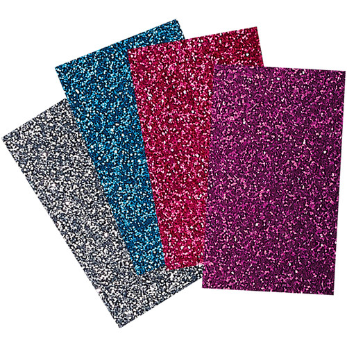 "Brother Iron-On Transfer Glitter Sheets for ScanNCut Machines (Bright Colors, 8.5x11"")"