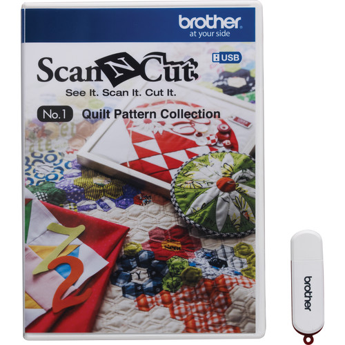 Brother USB No. 1 Quilt Pattern Collection for ScanNCut Machines