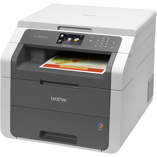 Brother HL-3180CDW All-in-One Color Laser Printer