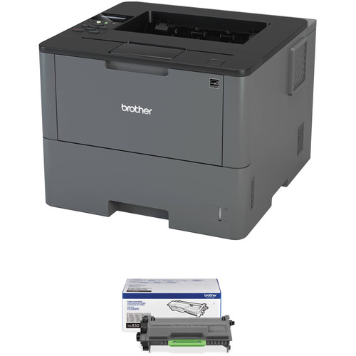 Brother HL-L6200DW Monochrome Laser Printer with TN850 High Yield Black Toner Kit