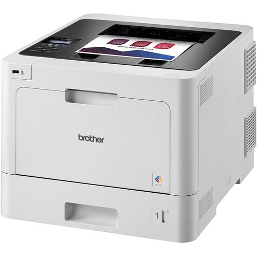 Brother HL-L8260CDW Color Laser Printer with Spare Standard-Yield Black Toner Cartridge Kit
