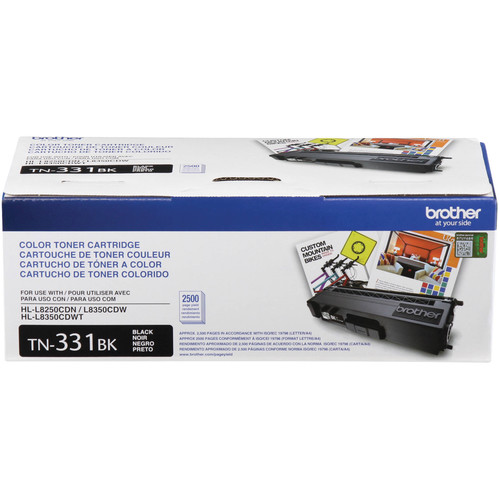 Brother HL-L8350CDW Wireless Color Laser Printer with Extra Black Toner Cartridge Kit