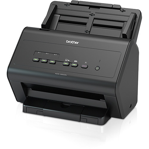 Brother ImageCenter ADS-3000N High-Speed Network Desktop Scanner