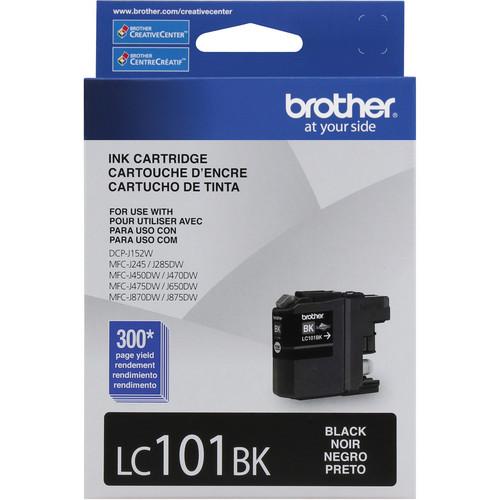 Brother LC101BK Innobella Standard Yield Ink Cartridge (Black)