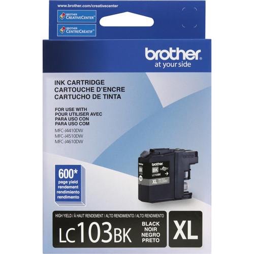 Brother LC103BK Innobella High Yield Black Ink Cartridge