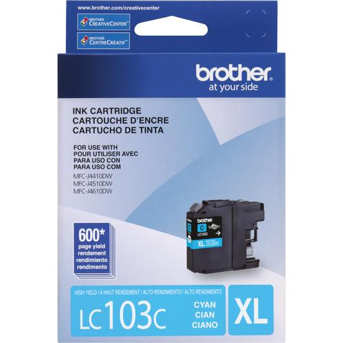 Brother LC103C Innobella High Yield Cyan Ink Cartridge