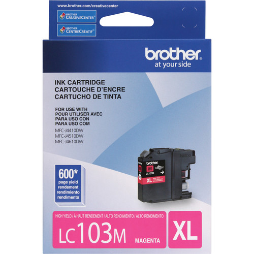 Brother LC103M Innobella High Yield Magenta Ink Cartridge