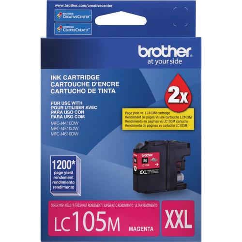 Brother LC105 Innobella Super High Yield XXL Ink Cartridge (Magenta)