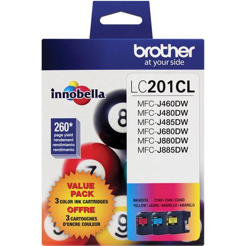 Brother Innobella Standard Yield Ink Cartridge (3-Pack)