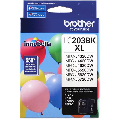 Brother LC203BK Innobella High Yield XL Series Black Ink Cartridge