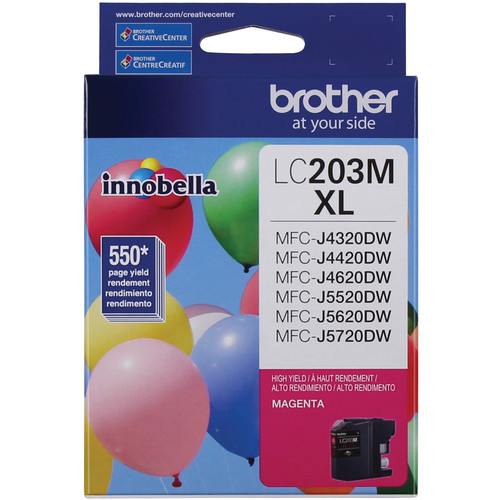 Brother LC203M Innobella High Yield XL Series Magenta Ink Cartridge