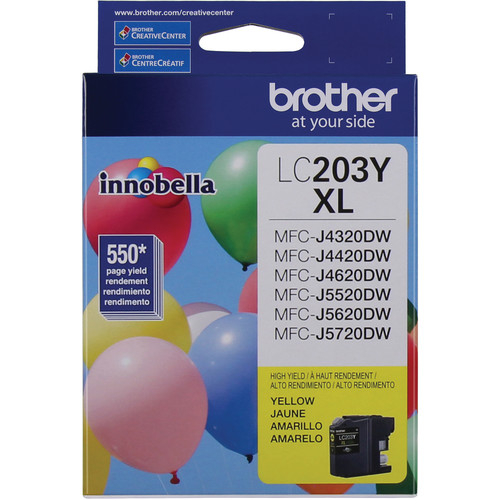 Brother LC203Y Innobella High Yield XL Series Yellow Ink Cartridge