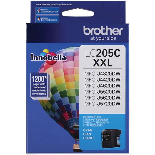Brother LC205C Innobella Super High Yield XXL Series Cyan Ink Cartridge