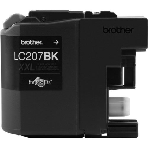 Brother LC207BK Innobella Super High Yield XXL Series Black Ink Cartridge