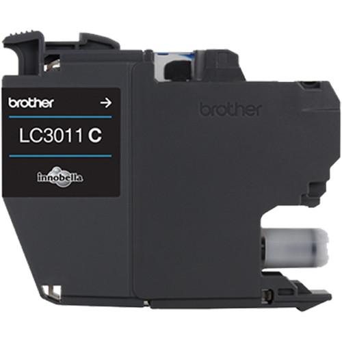 Brother LC3011 Standard-Yield Ink Cartridge (Cyan)