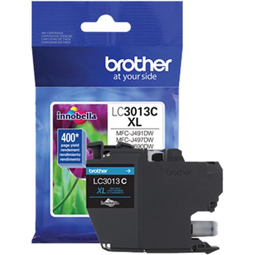 Brother LC3013 High-Yield Ink Cartridge (Cyan)