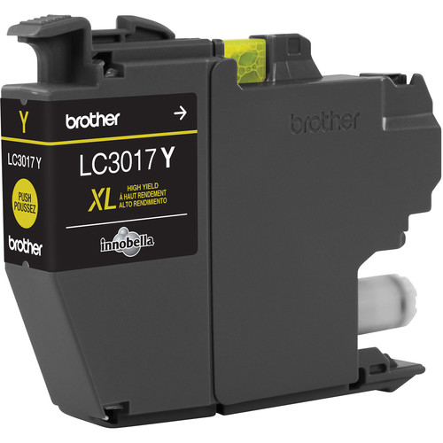 Brother LC3017Y High Yield XL Yellow Ink Cartridge