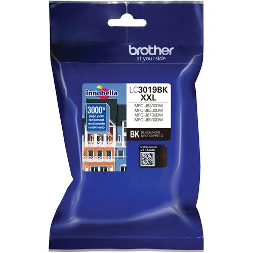 Brother LC3019BK Super High Yield XXL Black Ink Cartridge