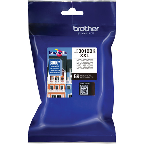 Brother LC3019BK Super High Yield XXL Black Ink Cartridge