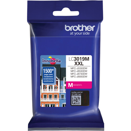 Brother LC3019M Super High Yield XXL Magenta Ink Cartridge