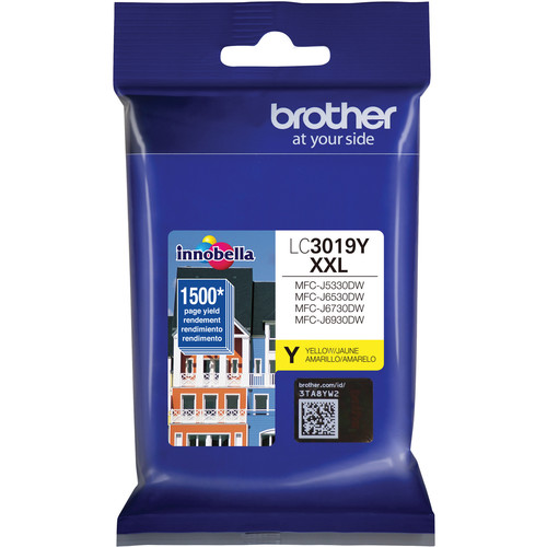 Brother LC3019Y Super High Yield XXL Yellow Ink Cartridge