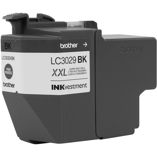 Brother LC3029BK Super High Yield INKvestment Black Ink Cartridge