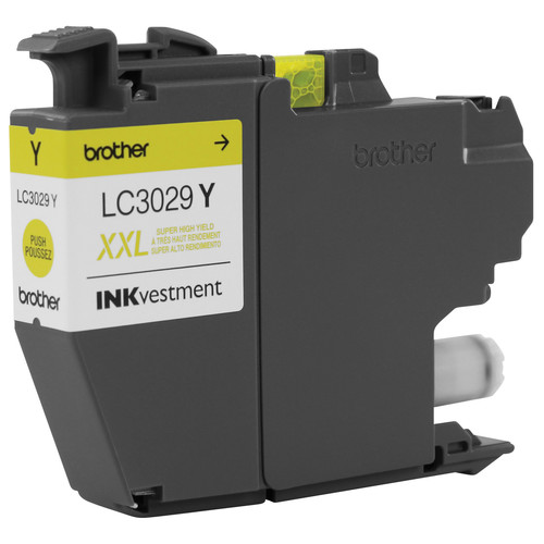 Brother LC3029Y Super High Yield INKvestment Yellow Ink Cartridge