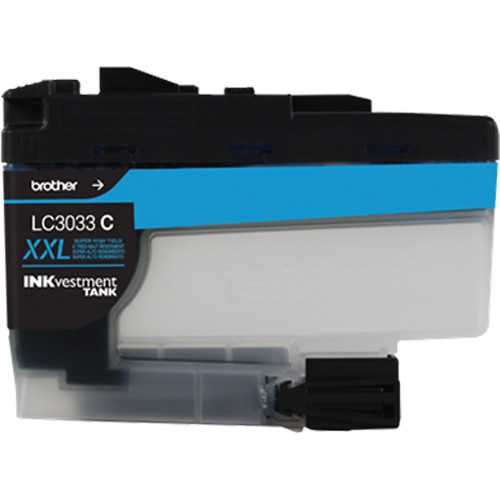 Brother LC3033 Super High-Yield INKvestment Tank Cartridge (Cyan)