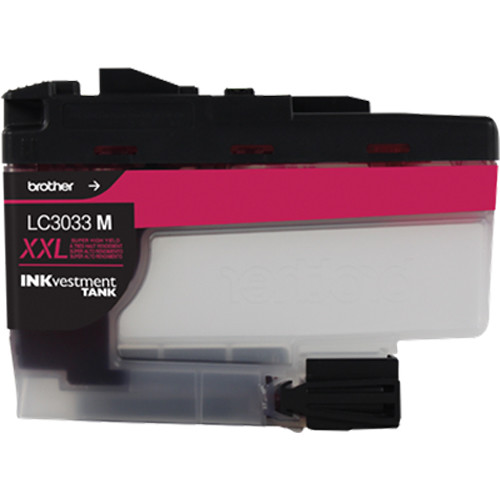 Brother LC3033 Super High-Yield INKvestment Tank Cartridge (Magenta)