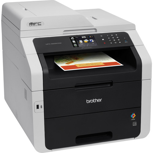 Brother MFC-9330CDW Wireless Color All-in-One Laser Printer with Extra Black Toner Cartridge Kit