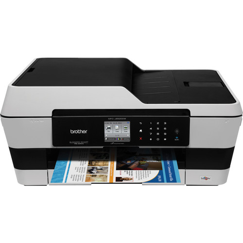 Brother MFC-J6520DW Wireless Color All-in-One Inkjet Printer