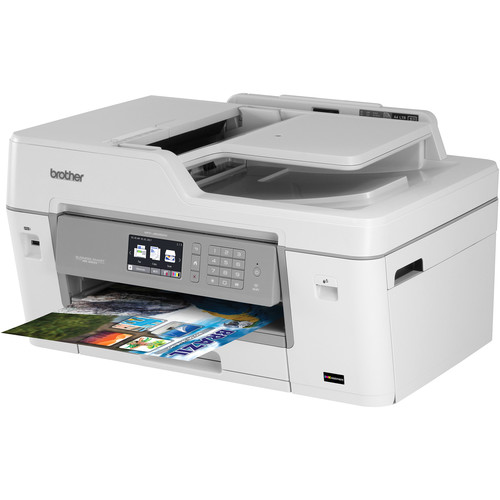 Brother MFC-J6535DW XL Business Smart Pro All-in-One Inkjet Printer with 5 Sets of INKvestment Ink
