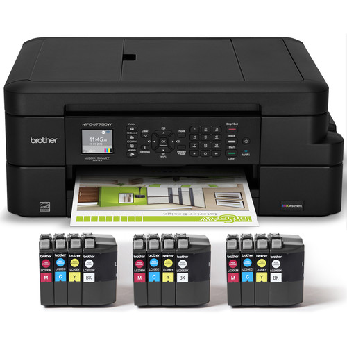 Brother MFC-J775DW XL All-in-One Color Inkjet Printer