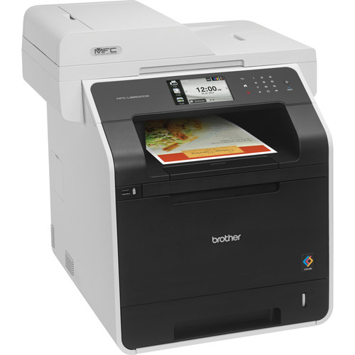 Brother MFC-L8850CDW Wireless Color All-in-One Laser Printer with Standard Yield Black Toner Kit