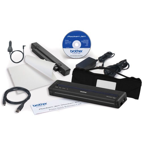 Brother PJ-773 PocketJet 7 Mobile Thermal Printer Workforce Kit