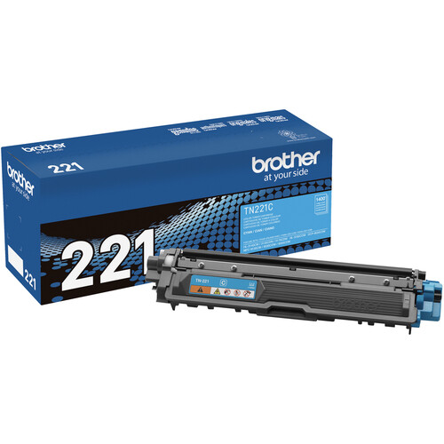 Brother TN221C Standard Yield Cyan Toner Cartridge